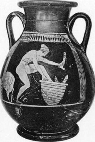 Vase aux olistoï